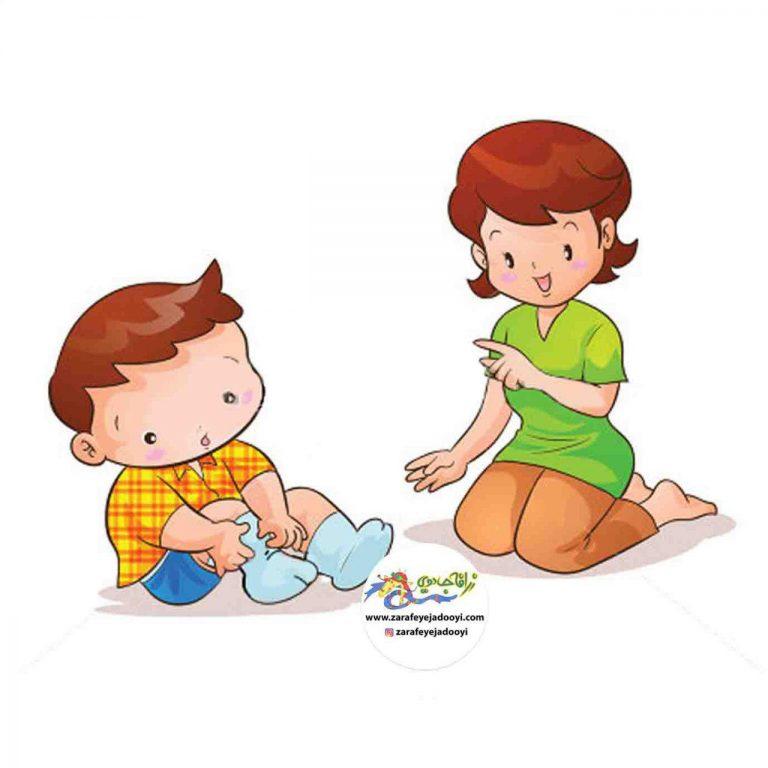 آموزش رنگ ها به کودکان با بازی