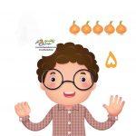 زرافه جادویی -آموزش شمارش با اسباب بازی ها ( از سه تا چهار سالگی )