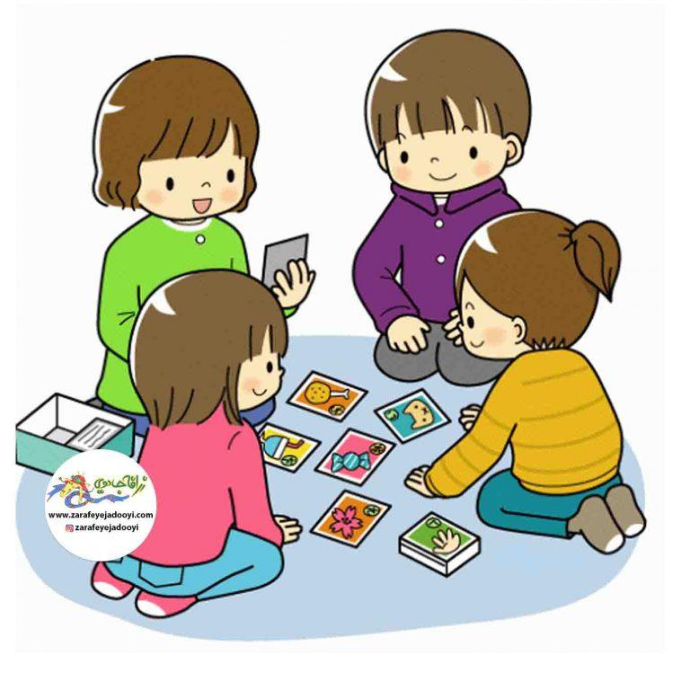 بازی با کلمات برای کودکان با کمک فلش کارت آموزشی کودک