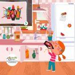 زرافه جادویی -مسمومیت کودک در خانه