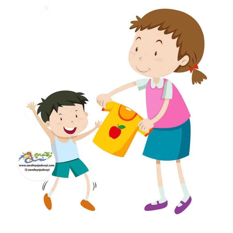 مقاومت کودکان در برابر لباس پوشیدن -لجبازی کودکان در لباس پوشیدن - مشکل لباس پوشیدن کودک