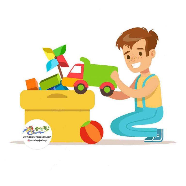 بازی رنگ ها با کودک - آموزش رنگها به کودکان