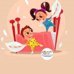 زرافه جادویی - اتاق خصوصی خواهر و برادر