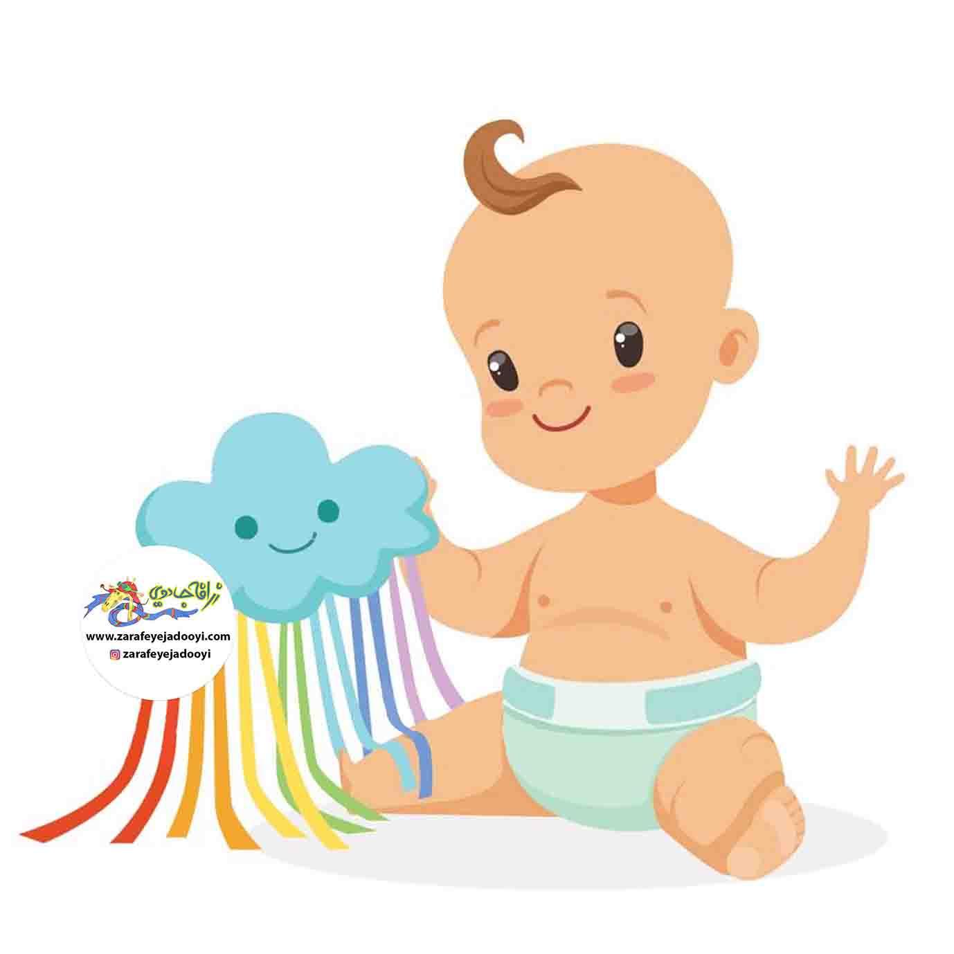 زرافه جادویی -چگونه کودک از پوشک خلاص می شود؟