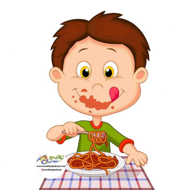 یاد دادن غذا خوردن به کودک