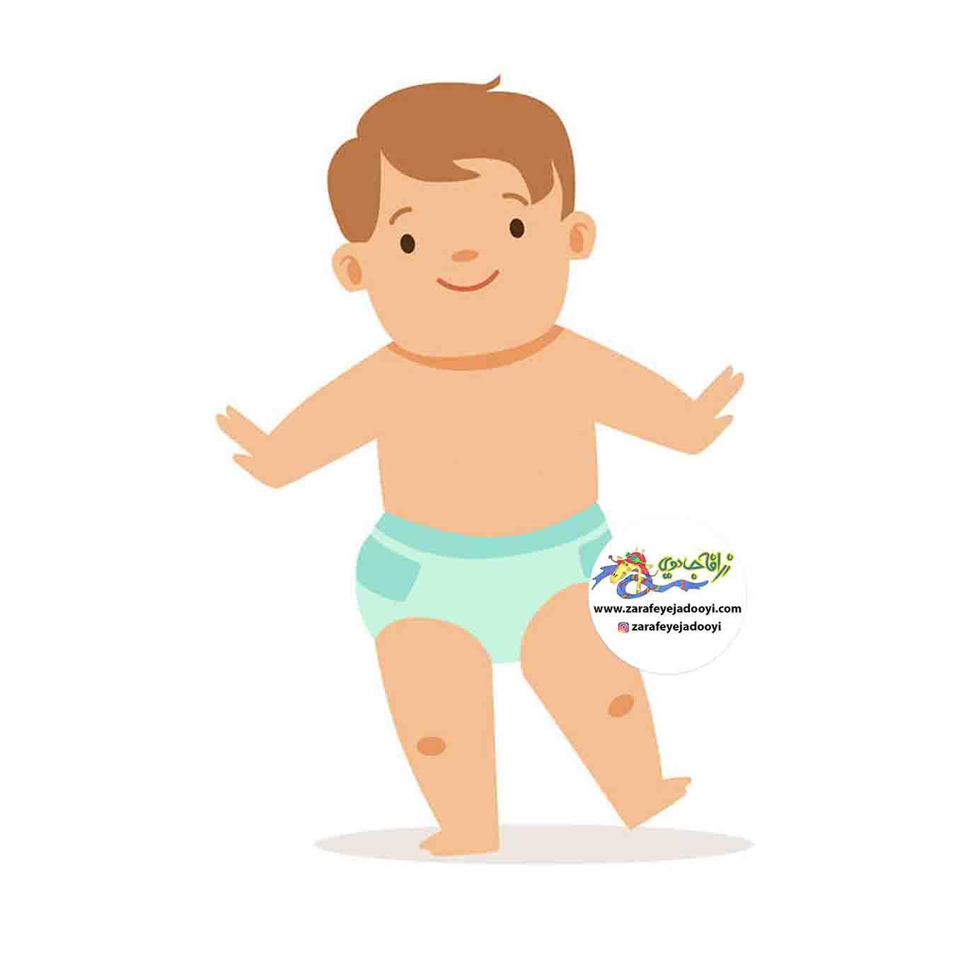 زرافه جادویی - رشد کودک از نه ماهگی تا یک سالگی