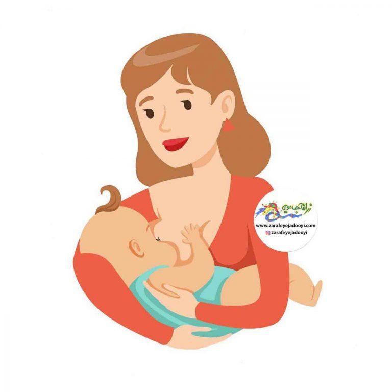 تغذیه با شیر مادر-تغذیه کودک با شیر مادر