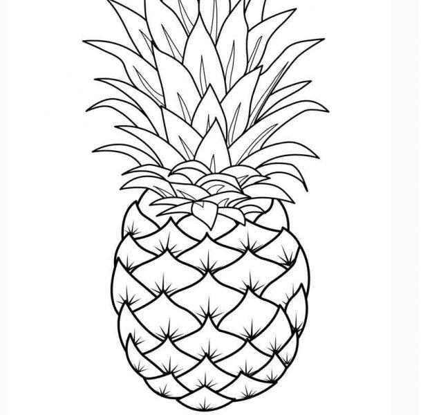 زرافه جادویی - رنگ آمیزی آناناس