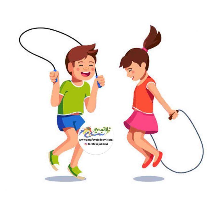 بازی حفظ تعادل روی طناب