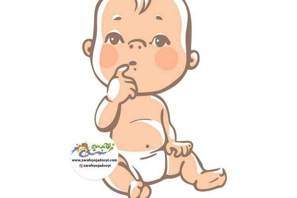 زرافه جادویی - رشد کودک از 4ماهگی تا 8 ماهگی