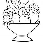 زرافه جادویی - رنگ آمیزی میوه ها