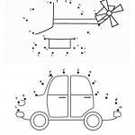 زرافه جادویی-بازی نقطه به نقطه-هلیکوپتر-ماشین