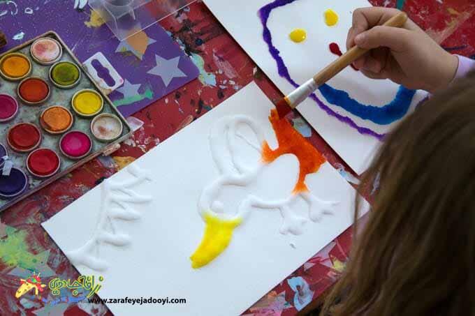 راهنمای نقاشی با آبرنگ برای کودکان