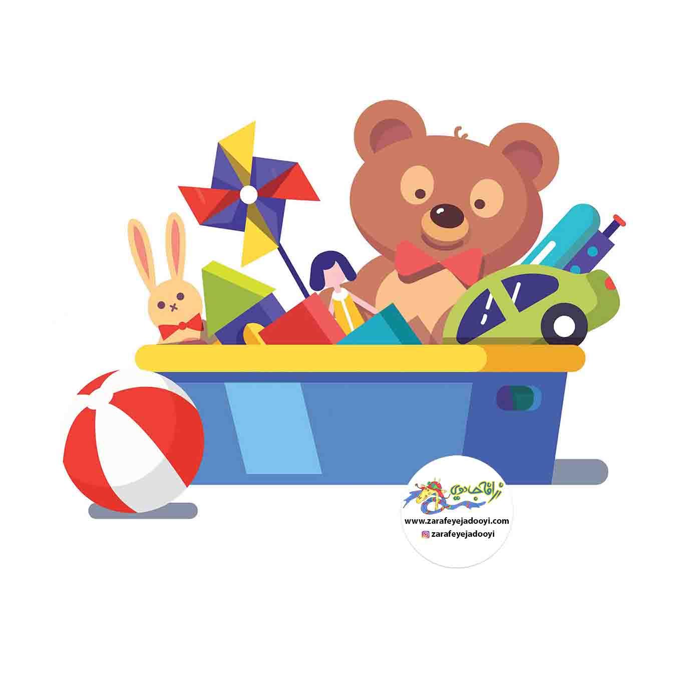 زرافه جادویی - اسباب بازی کودک را درست انتخاب کنید