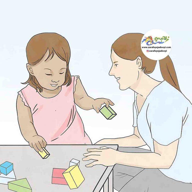 با بازی حس کنجکاوی کودک خود را تحریک کنیم