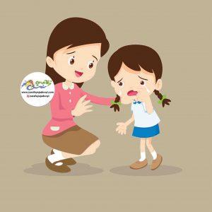 برخورد صحیح با اشتباه کودک ، فریاد زدن یا کتک زدن