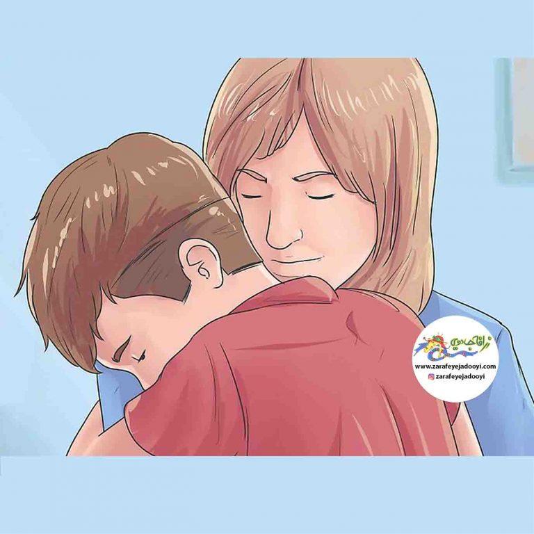 گوش دادن به صحبت های فرزند خود