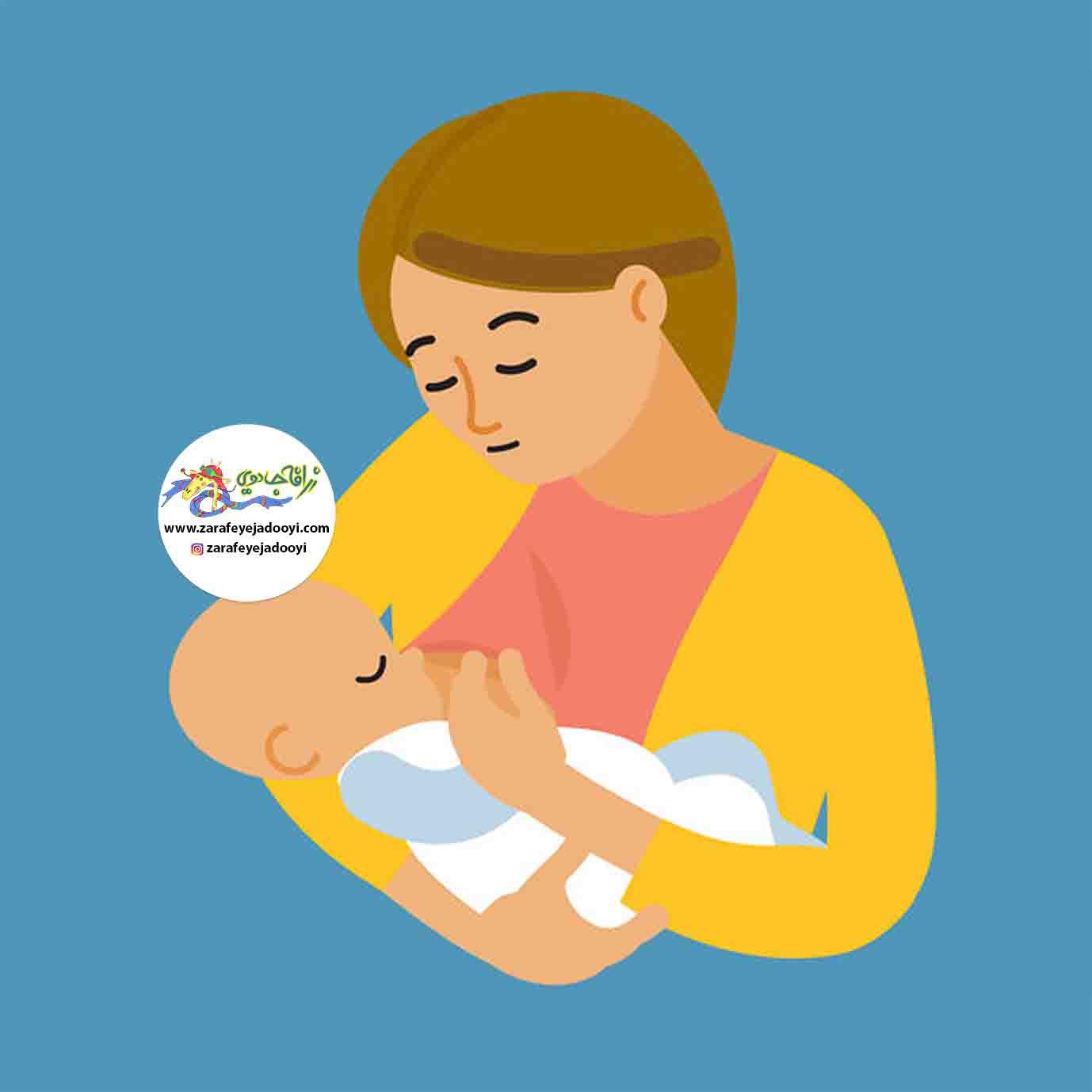 زرافه جادویی-نحوه صحیح از شیر گرفتن کودکان