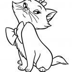 زرافه جادویی-طرح رنگ آمیزی کودکان بچه گربه