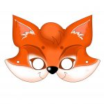 زرافه جادویی-ماسک حیوانات روباه
