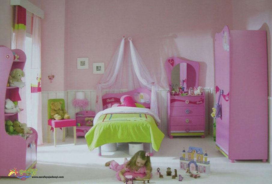 دکوراسیون اتاق دختر بچه