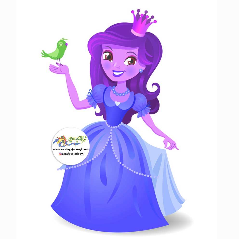 زرافه-جادویی-قصه-کودکانه-صوتی-شاهزاده-خانم-و-آدم-برفی