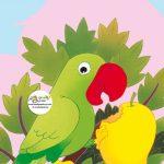 زرافه-جادویی-قصه-کودکانه-صوتی-طوطی-سبز-و-میوه-انبه