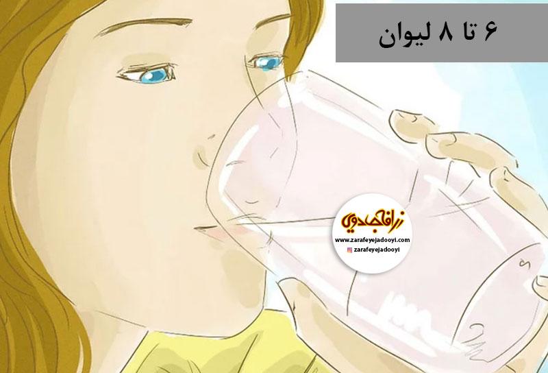 زرافه-جادویی-درمان-خانگی-ورم-پا-در-دوران-بارداری-آب-بیشتری-بنوشید