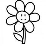 نقاشی گل برای کودکان 18