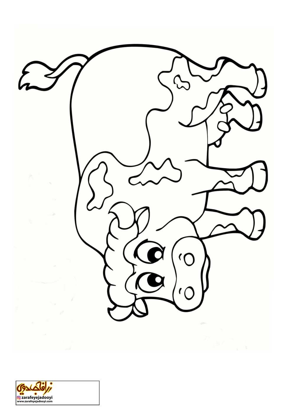 زرافه-جادویی-رنگ-آمیزی-کودکان-گاو-01