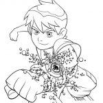 زرافه-جادویی-نقاشی-کارتون-بن-تن-23