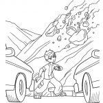 زرافه-جادویی-نقاشی-کارتون-بن-تن-25