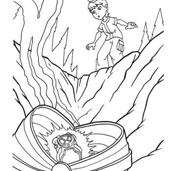زرافه-جادویی-نقاشی-کارتون-بن-تن-26