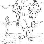 زرافه-جادویی-نقاشی-کارتون-بن-تن-30