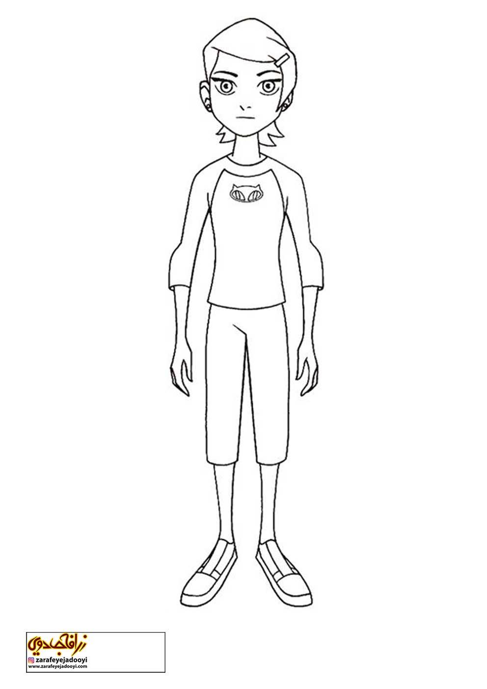 زرافه-جادویی-نقاشی-کارتون-بن-تن-31