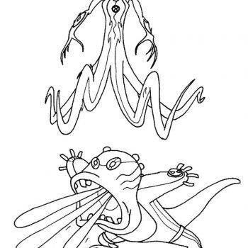 زرافه-جادویی-نقاشی-کارتون-بن-تن-35