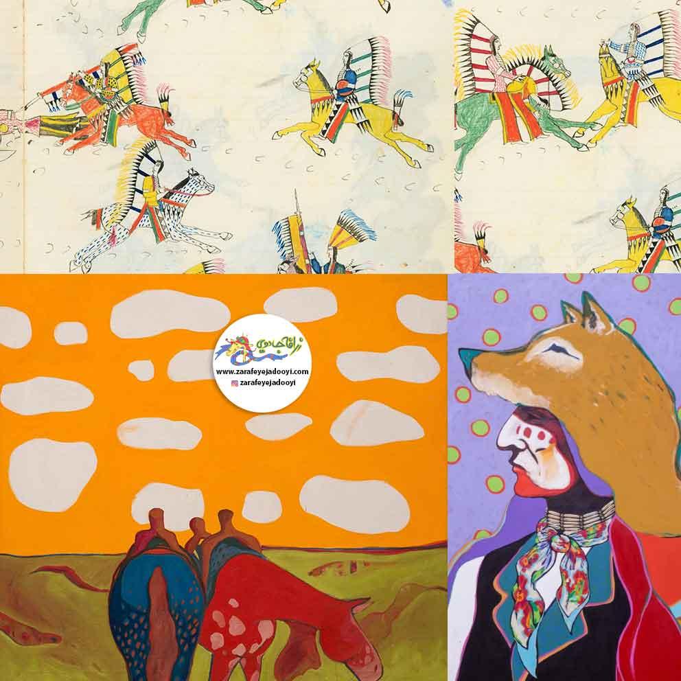 زرافه-جادویی-قصه-کودکانه-صوتی-افسانه-سرخپوستان