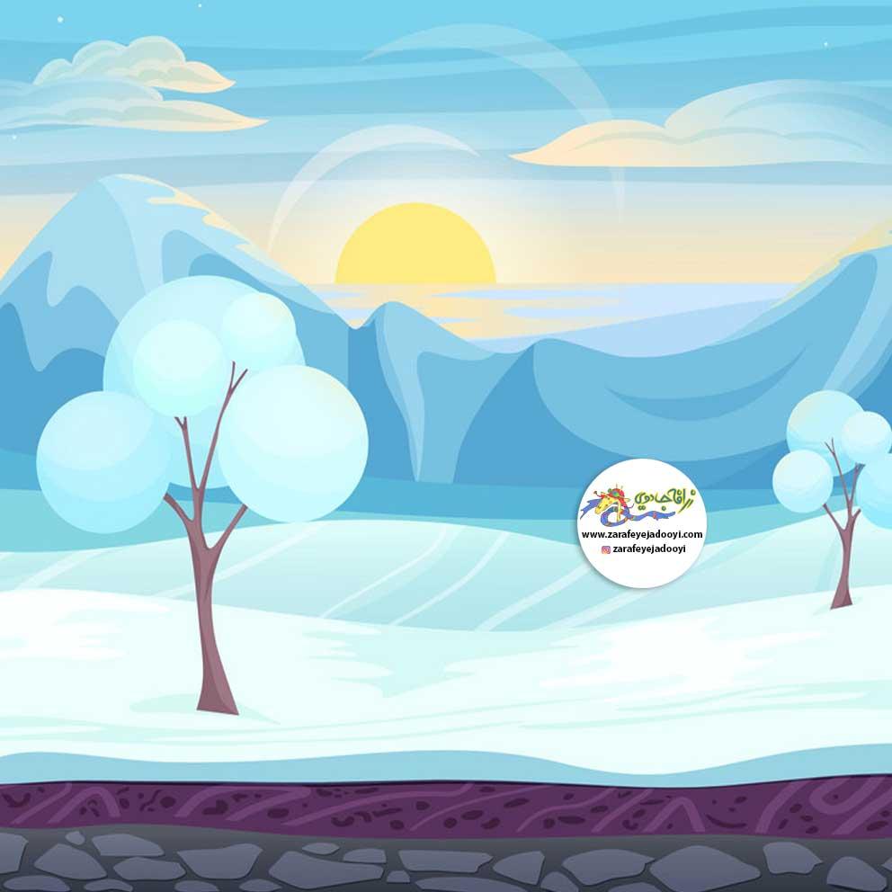 زرافه-جادویی-قصه-کودکانه-قصه-ای-از-قطب-شمال