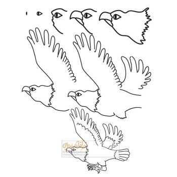 زرافه-جادویی-نقاشی-ساده-عقاب