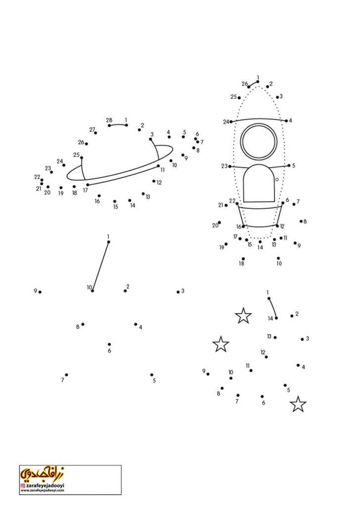 نقاشی نقطه به نقطه فضاپیما